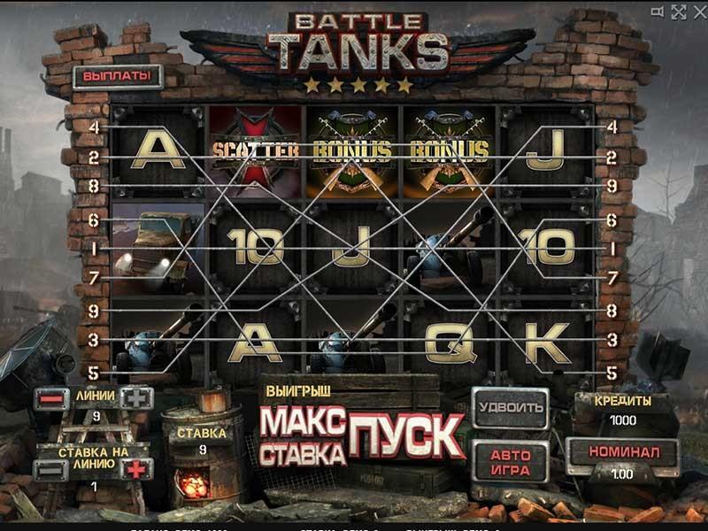 играть в игровые автоматы танки