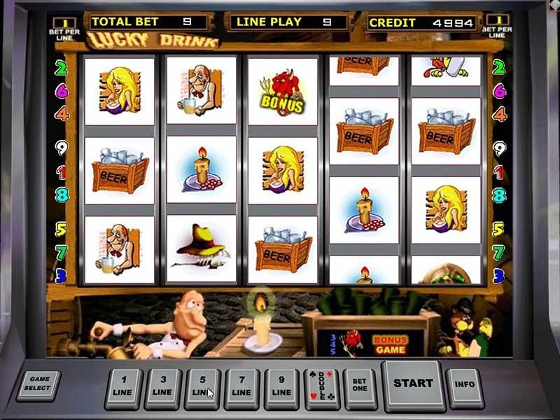 Игровой автомат lucky drink играть бесплатно онлайн рулетки игровые автоматы